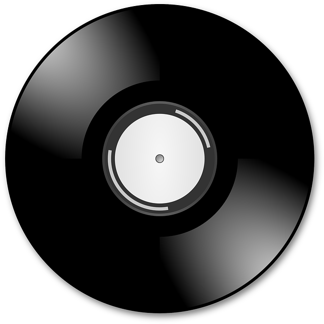 Black Disco Cd Music Icon Png image #14185