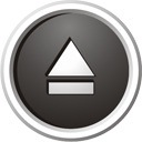 Black Eject Icon image #13954