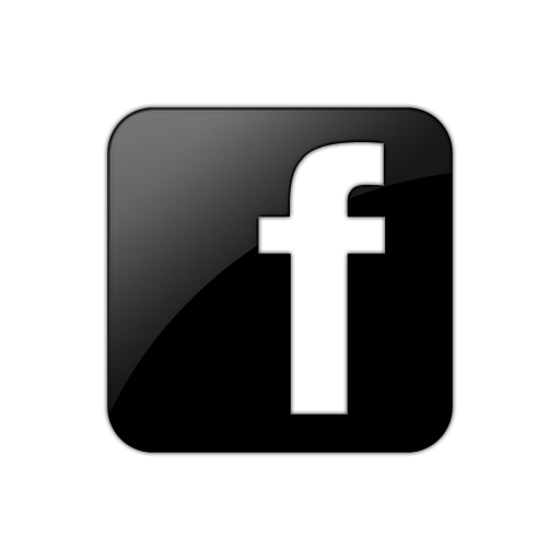 Black Facebook Square Icon image #11207