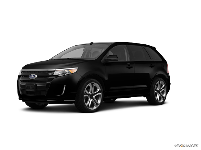 Black Ford Edge Png image #28042
