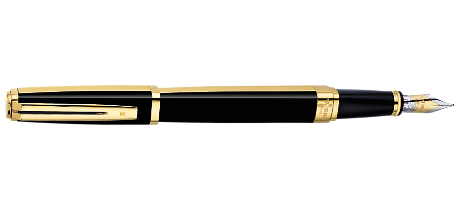 Black Fountain Pen PNG Free Download