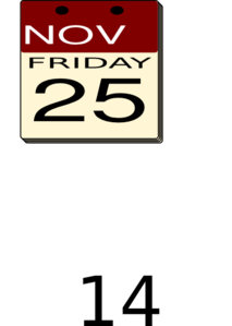 Black Friday Date Png image #33113