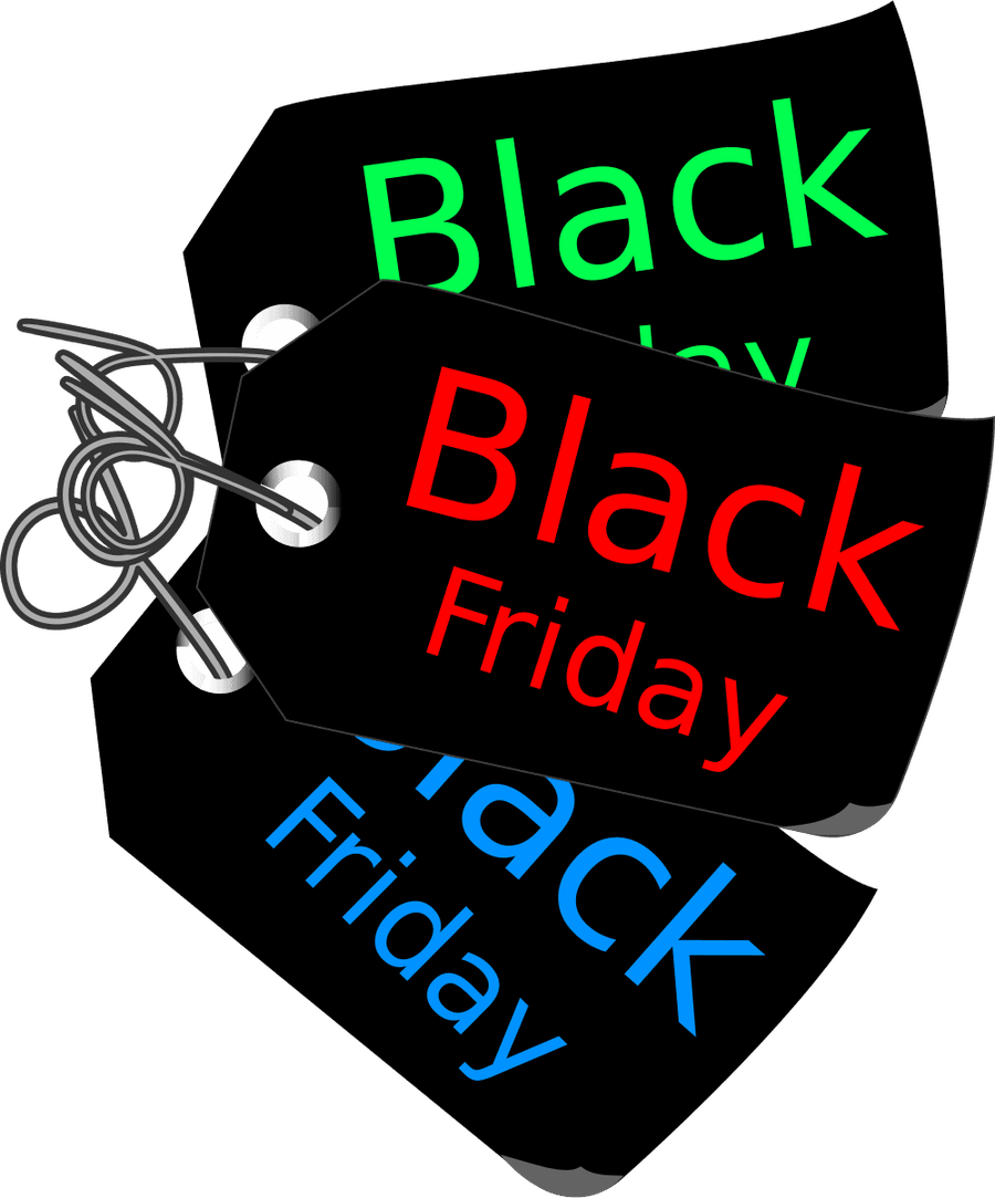 Transparent Background Black Friday Png image #33105