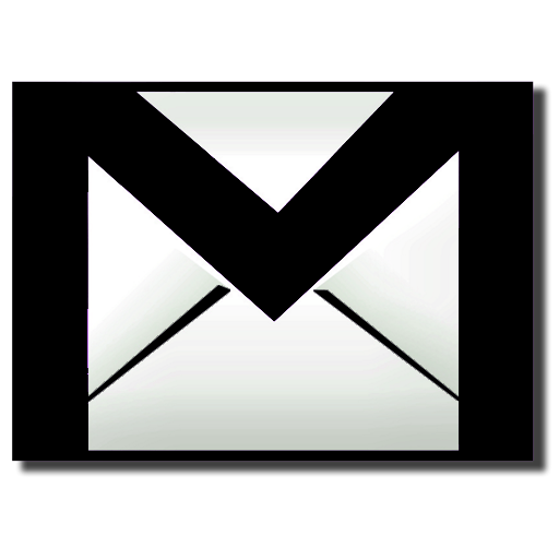 Black Gmail Icon