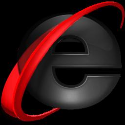 Black Internet Explorer 9 Icon Png Transparent Background Free Download Freeiconspng