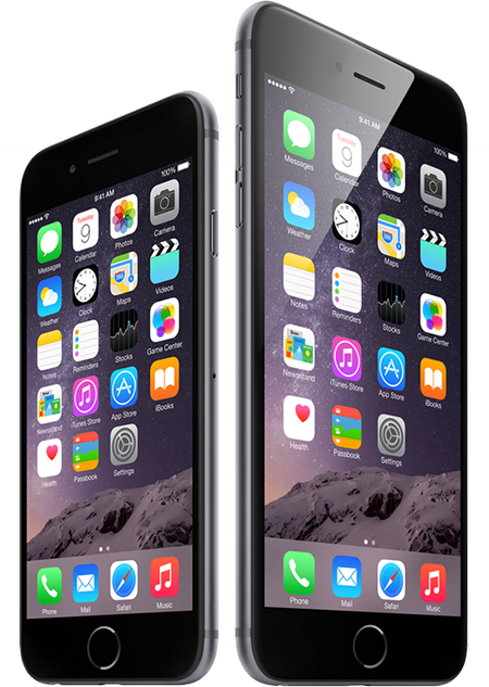 black iphone 6 png
