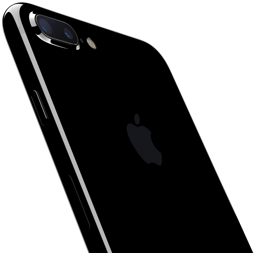 black iphone 7 png