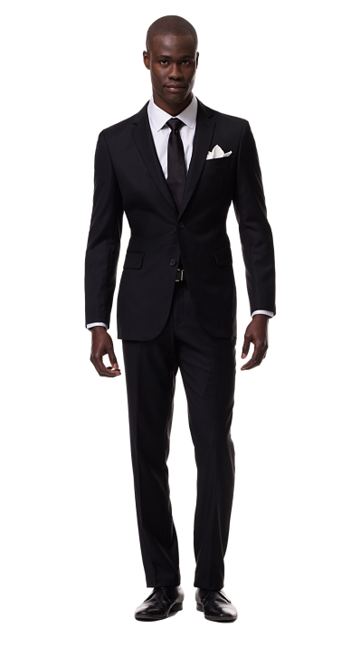 Black Man In Suit Png image #9462