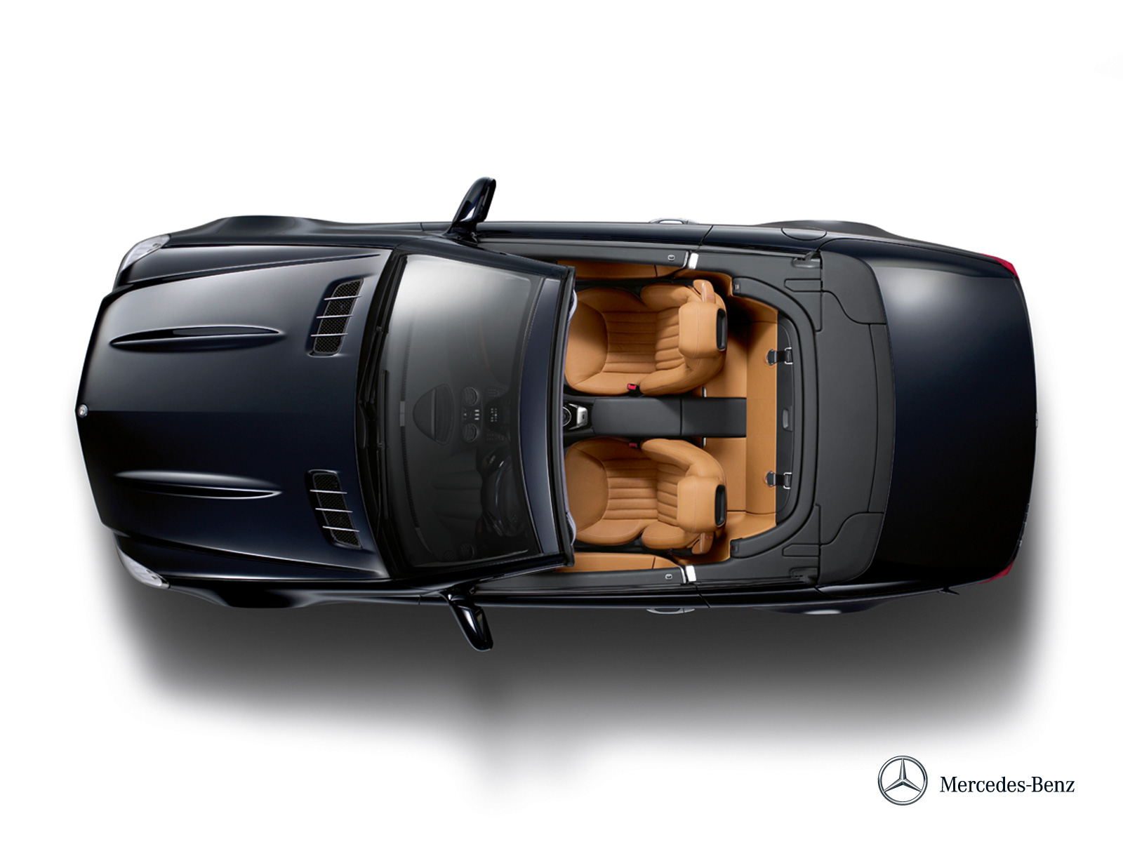 Black Mercedes Benz Top Car Png 34858 Free Icons And
