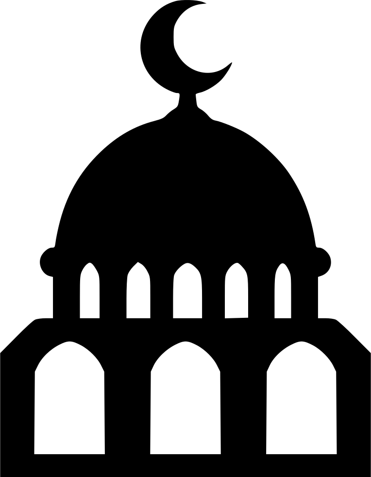 Black Mosque PNG Image