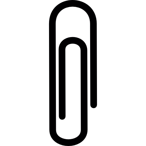 Paper Clip Drawing Icon image #13272
