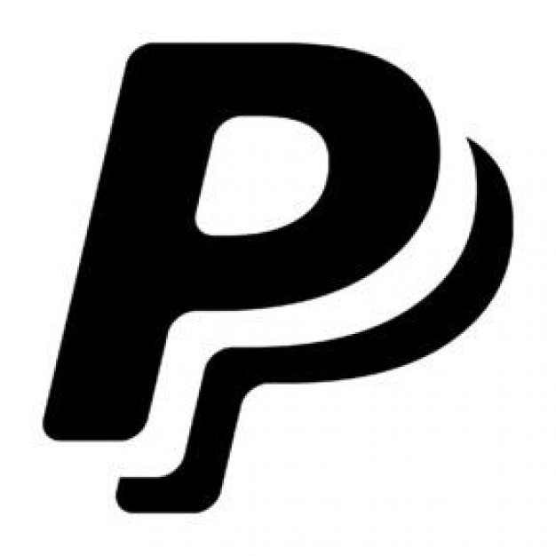Black Paypal Icon image #11719