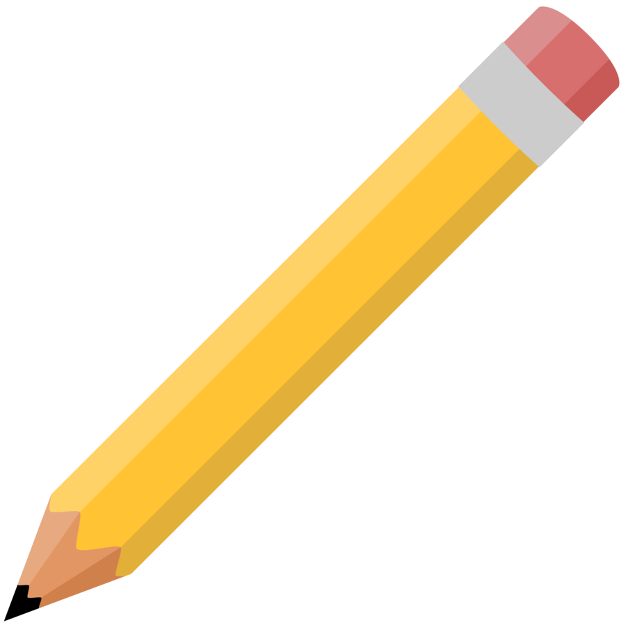 Black Pencil Png Black Pencil Vector image #653