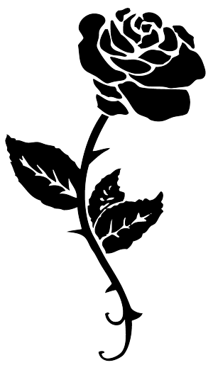 Black Rose Tattoo Png image #39048