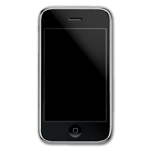 Black Simple Iphone Icon image #38344