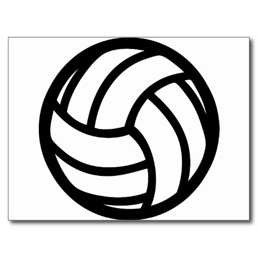 Black Volleyball Icon image #3259