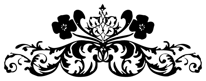 Black white Floral Png Floral Tattoo #41805 - Free Icons ...