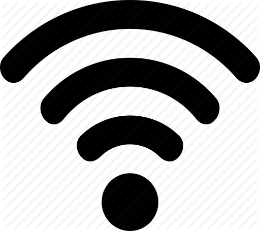 black wifi icon png