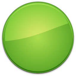 Blank Badge Green Png image #12523