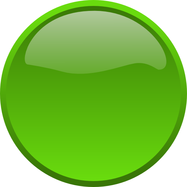 Blank Big Green Button Png image #44876