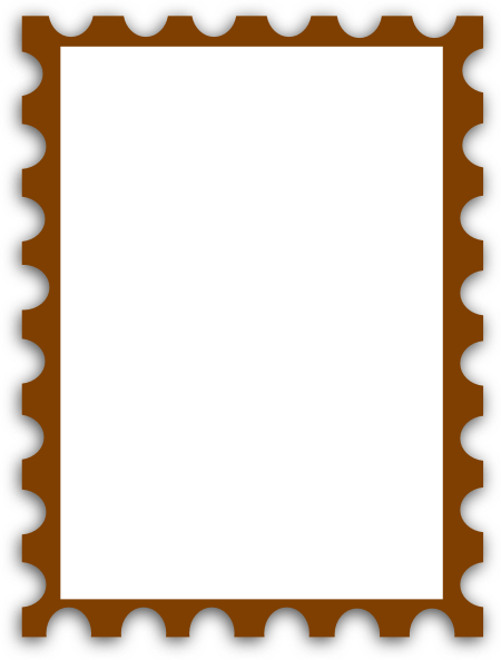 Blank Postage Stamp Png image #24408