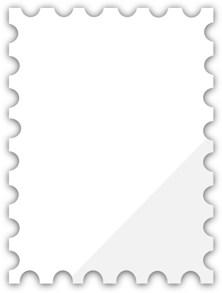 Blank Postage Stamp Template Png image #24412