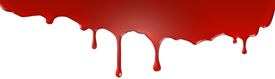 Blood Drip Red Png
