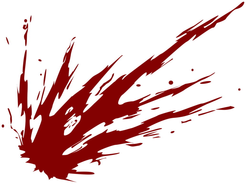 blood splatter image png