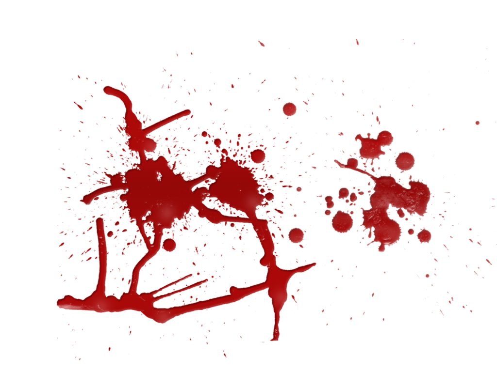 Blood HD PNG image #7148