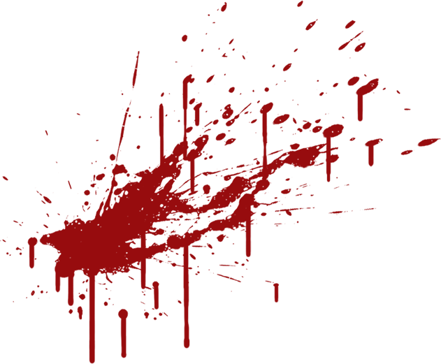 Blood Spatter Png Clipart
