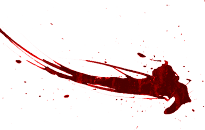 Blood Splat Png image #44479