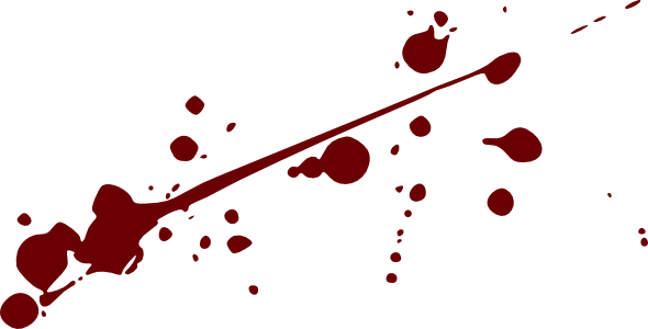 Blood Splatter High Quality Png image #44468