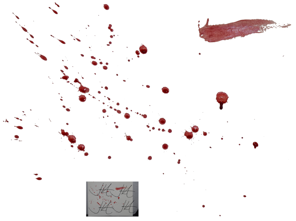 Blood Splatter Png image #44459
