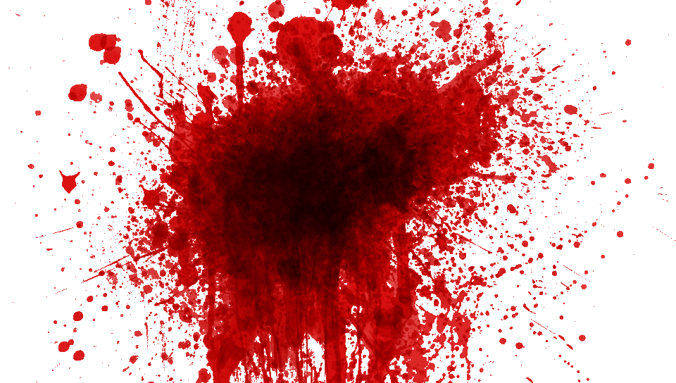 Blood Splatter Zombie Png image #44470