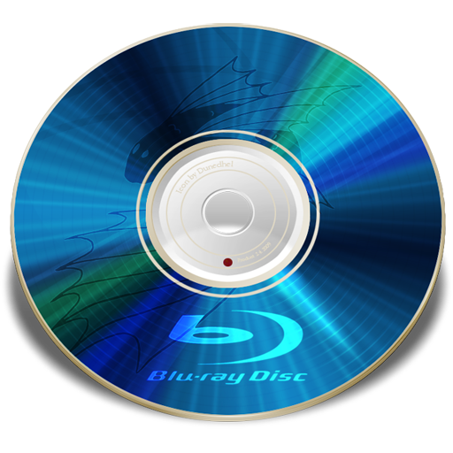 Simple Blu Ray Png image #11762