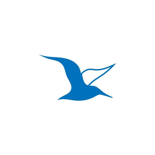 Blue And White Of Albatross Emblem Images image #47756