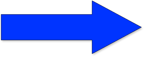 Blue Arrow Vector Png image #36995