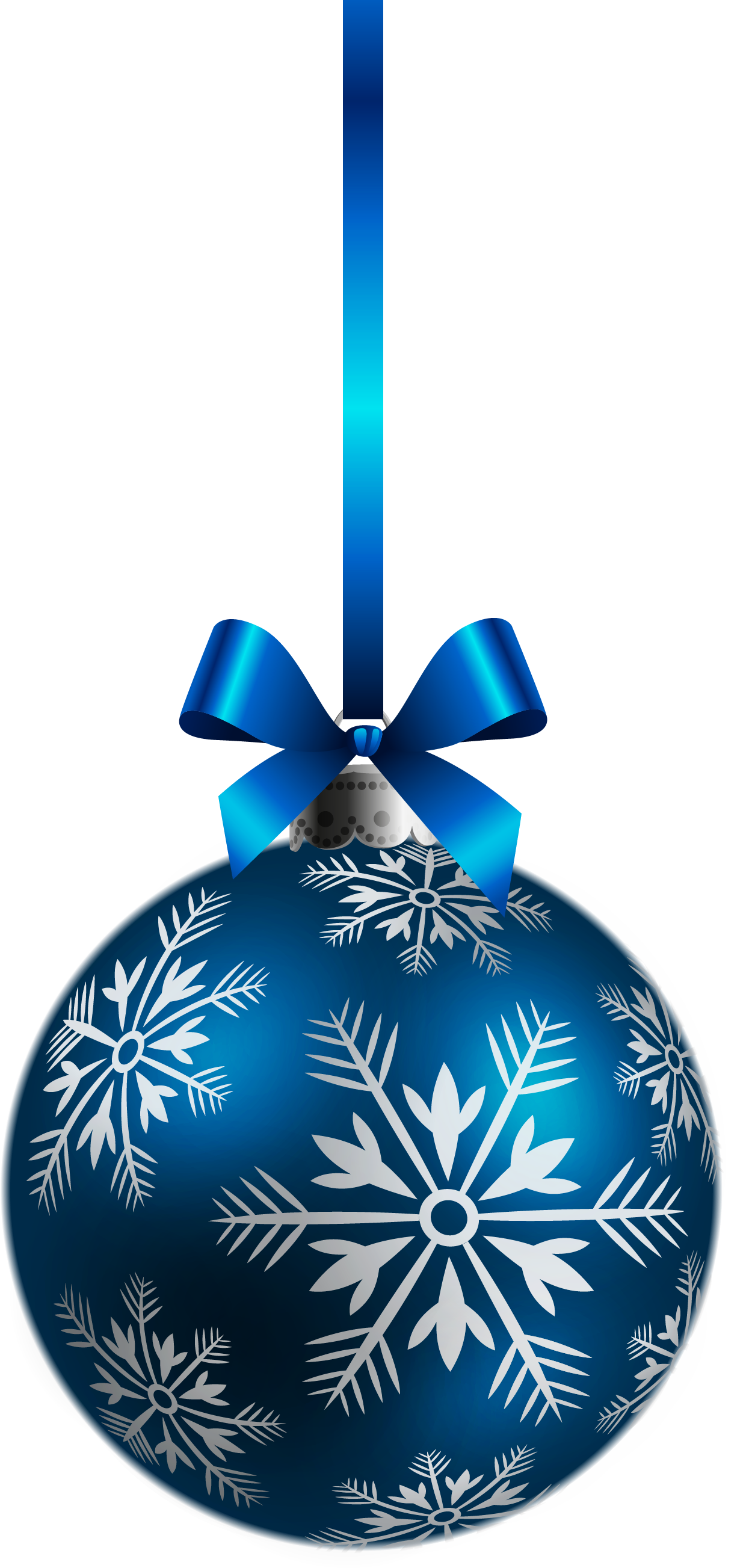 Blue Ball Ornaments Christmas image #46341