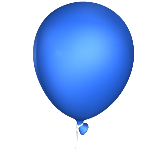 blue balloon png