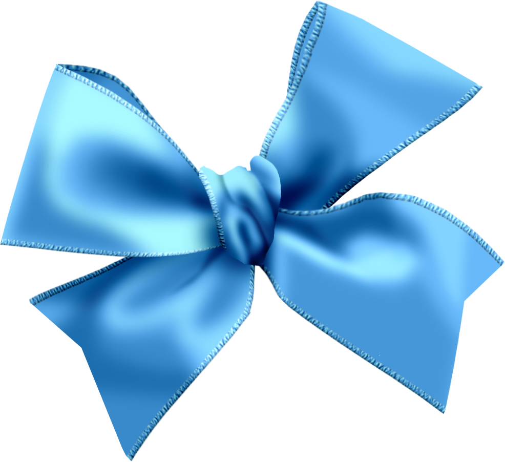 Blue Bow PNG images free download, bow PNG