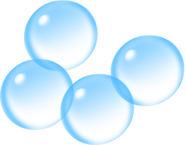 blue bubbles png