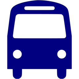 Blue Bus Icon Png Transparent Background Free Download Freeiconspng
