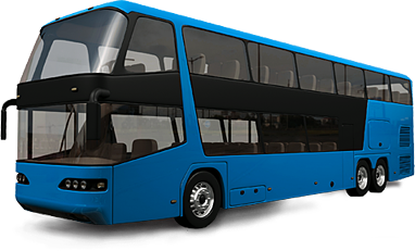 blue bus png