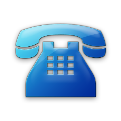 Image result for telephone icon blue
