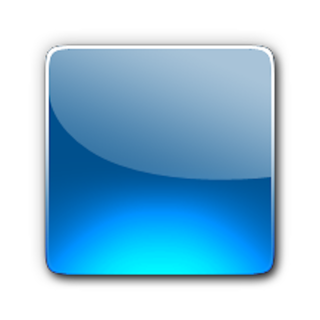 Blue Button Icon Png image #21048