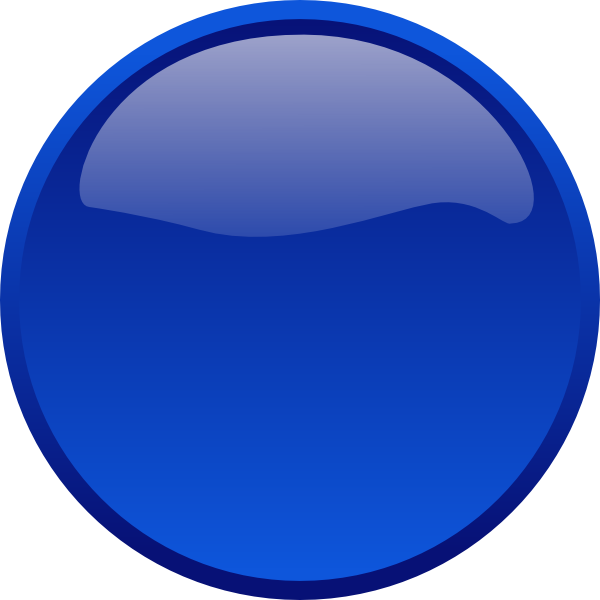Blue Button Icon Png image #21052