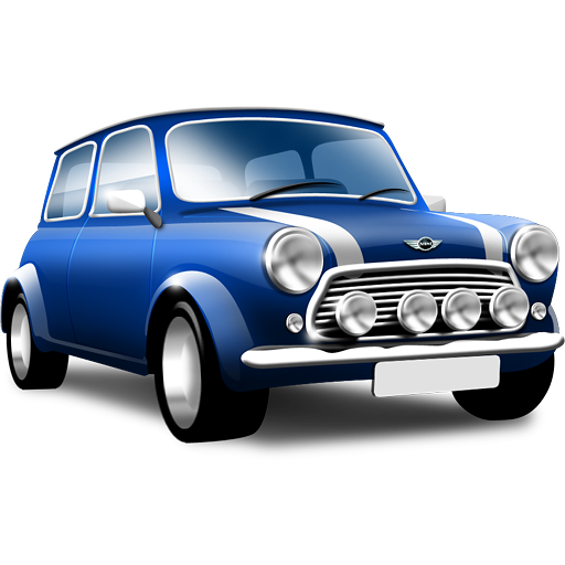 Blue Car Icon image #4263