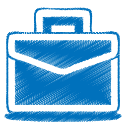 Blue Case Icon Png image #2684