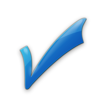 Blue Checkmark Png image #25973