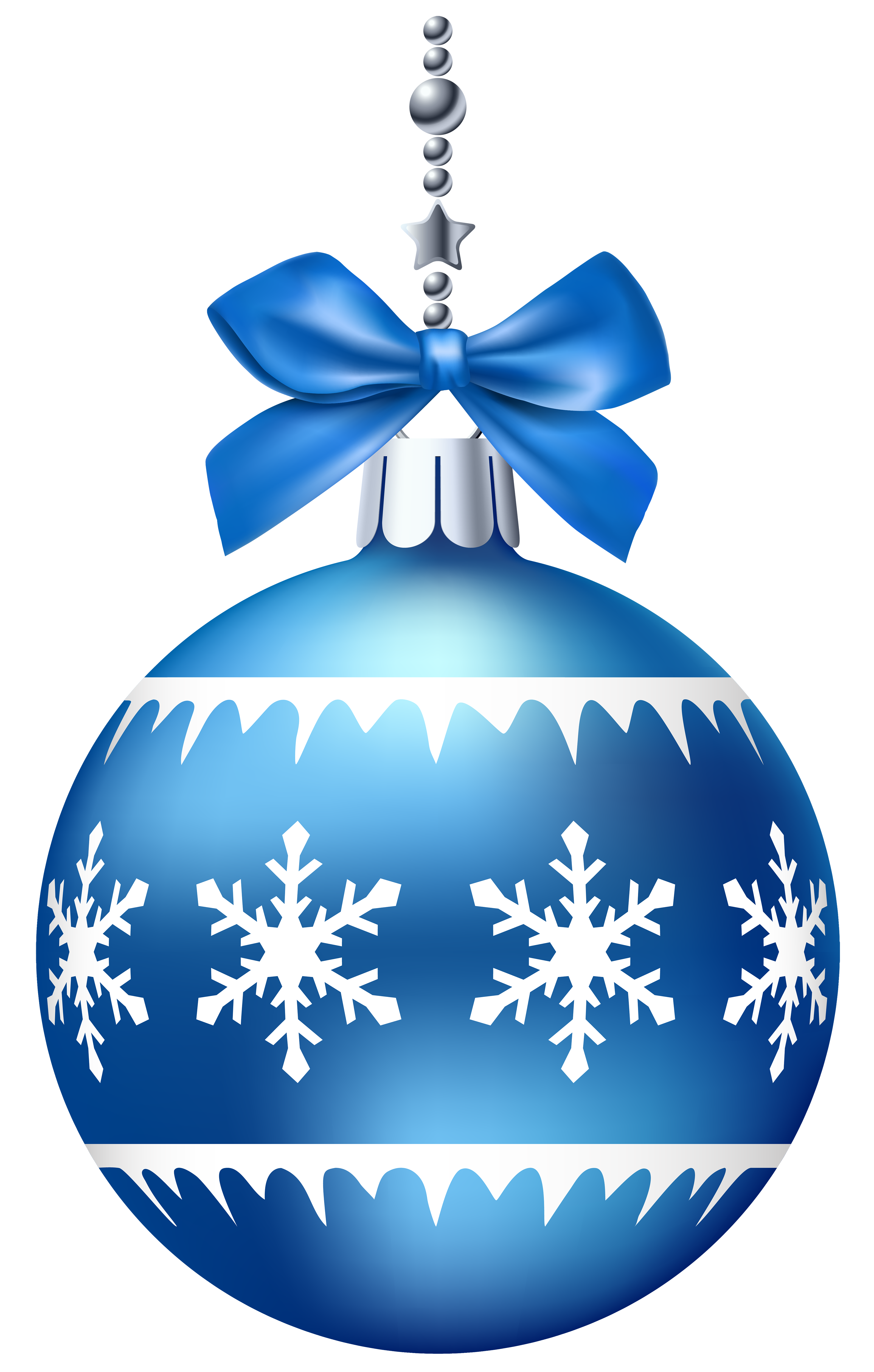 blue christmas balls png